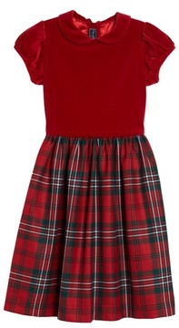 Oscar de la Renta Toddler Girl's Holiday Plaid Dress