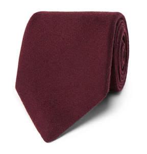 Charvet 7.5cm Silk And Wool-Blend Tie