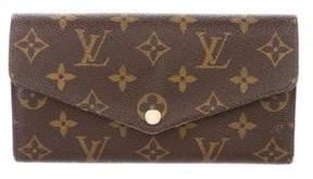 Louis Vuitton Monogram Sarah Wallet NM