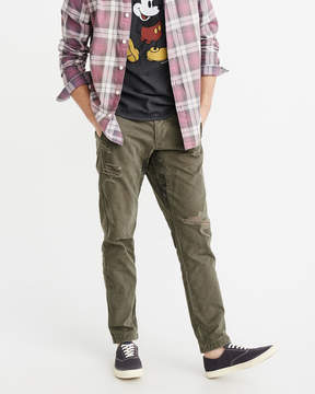 Abercrombie & Fitch Destroyed Athletic Skinny Chinos