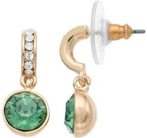Dana Buchman Round Drop C-Hoop Earrings