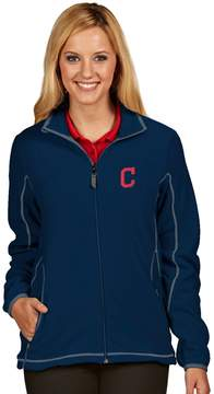 Antigua Women's Cleveland Indians Ice Polar Fleece Jacket
