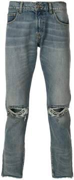 Ih Nom Uh Nit distressed slim-fit jeans