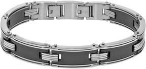Ice Men's Black Ceramic Stainless Steel Bracelet