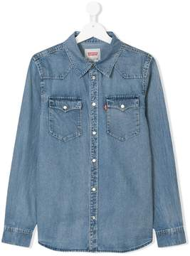 Levi's Kids Teen denim shirt