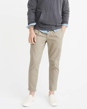 Abercrombie & Fitch Athletic Slim Cropped Chinos