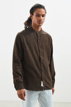 NATIVE YOUTH Alford Flannel Button-Down Shirt
