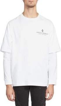 Marcelo Burlon County of Milan Wings Long Sleeve T-Shirt