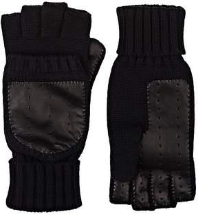 Barneys New York Men's Wool-Cashmere Convertible Mittens