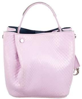 Christian Dior Snakeskin Diorific Bucket Bag