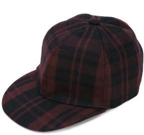 Valentino plaid cap
