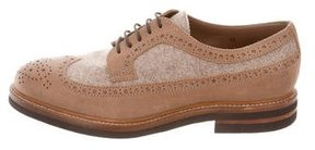 Brunello Cucinelli Brogue Wingtip Oxfords w/ Tags