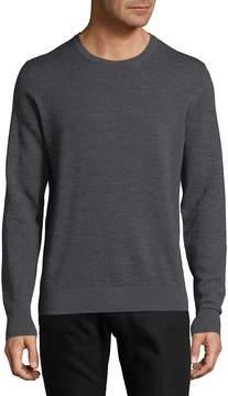 Luciano Barbera Men's Rib-Trimmed Sweater