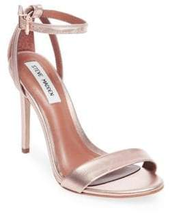 Steve Madden Lacey Stiletto Leather Sandals