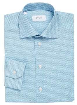 Eton Floral Printed Shirt