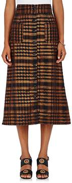 Ace&Jig Women's Bo Metallic Cotton-Blend Midi-Skirt