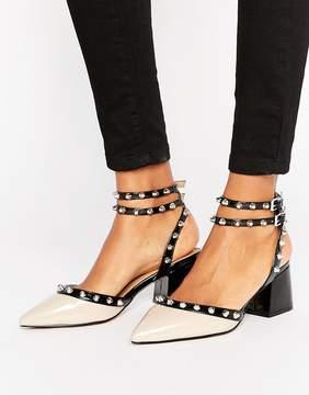 Asos SIXTH SENSE Studded Mid Shoes