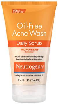 Neutrogena Oil-Free Acne Wash Daily Scrub