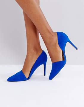 MANGO Open Side Pointed Court Shoe