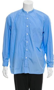 TOMORROWLAND Woven Button-Up Shirt