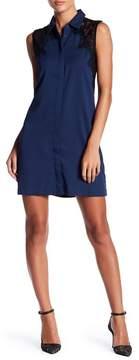 Cooper & Ella Stella Lace Shirt Dress