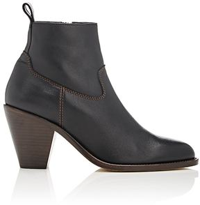 Helmut Lang Women's Side-Zip Ankle Boots