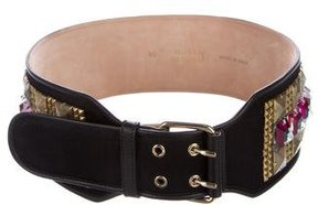 Matthew Williamson Embellished Waist Belt