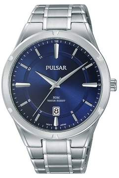 Pulsar Men's Silver Tone with Blue Dial - PS9521