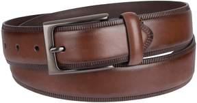 Croft & Barrow Men's Embossed-Edge Dress Belt