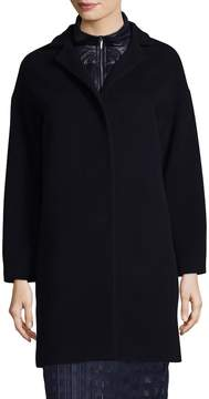 Cinzia Rocca Women's Spread Collar Wool Coat