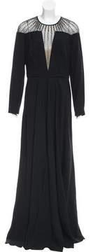 Temperley London Long Sleeve Evening Dress
