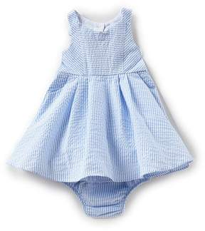 Rare Editions Baby Girls 12-24 Months Striped Seersucker A-Line Dress