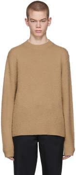 Acne Studios Beige Peele Crewneck Sweater