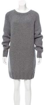 Dries Van Noten Mini Sweater Dress