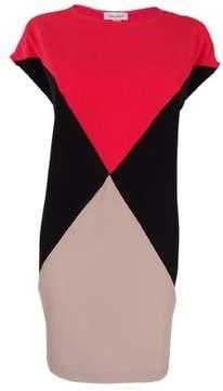 Calvin Klein Women's Colorblock Cap-Sleeve Shift Dress
