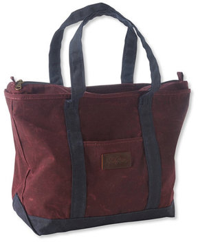 L.L. Bean Waxed-Canvas Tote Bag