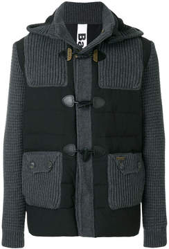 Bark padded duffle jacket