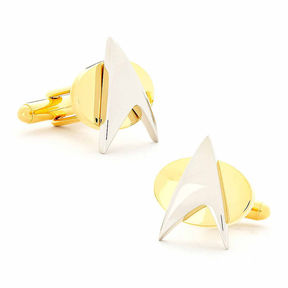 Asstd National Brand Star Trek Delta Shield Cuff Links