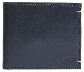 Ted Baker Men's Vivid Leather Wallet - Blue