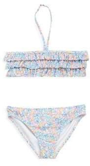 Ralph Lauren Little Girl's Floral Two-Piece Swimsuit