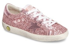 Golden Goose Deluxe Brand Toddler Girl's Superstar Glitter Low Top Sneaker