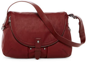 Lucky Brand Liza Nubuck Leather Shoulder Bag
