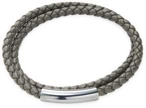 Bottega Veneta Men's Leather Wrap Bracelet