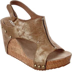 Antelope 744 Leather Wedge Sandal