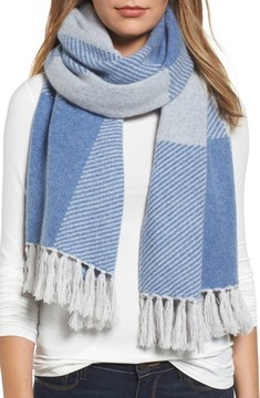 Halogen Women's Buffalo Check Cashmere Scarf