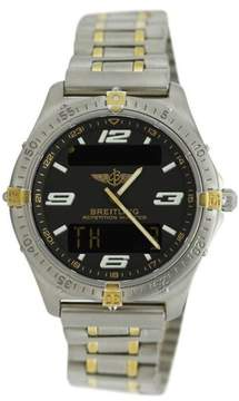 Breitling F65362 Professional Aerospace Two Tone Yellow Gold & Titanium 40mm Watch