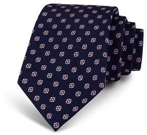Bloomingdale's The Men's Store at Neat Mini-Floral Silk Classic Tie