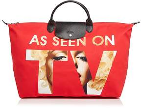 Longchamp As Seen On TV Weekender - RED/SILVER - STYLE