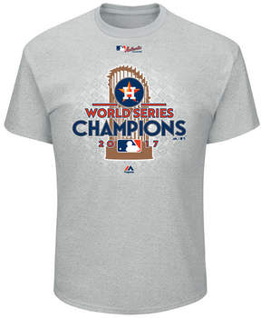 Majestic Houston Astros 2017 World Series Champ Locker Room T-Shirt, Big Boys (8-20)