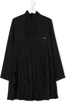 DSQUARED2 teen pleated dress